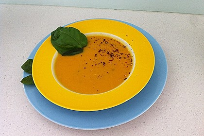 Mango-Möhren-Suppe 7