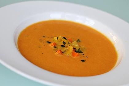 Mango-Möhren-Suppe 4