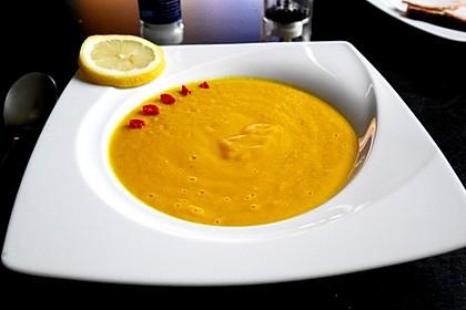 Mango-Möhren-Suppe 8