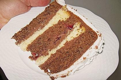 Rotwein - Haselnuss - Kuchen 9