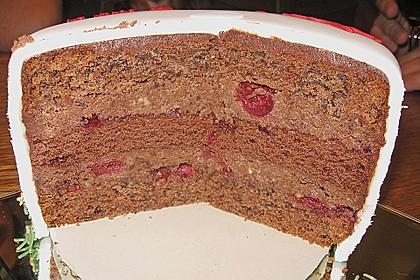 Rotwein - Haselnuss - Kuchen 12