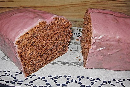 Rotwein - Haselnuss - Kuchen 2