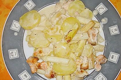 Spinat - Kartoffel - Lachs - Auflauf 19