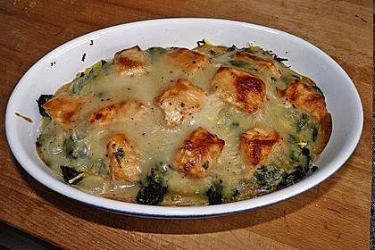 Spinat - Kartoffel - Lachs - Auflauf 5
