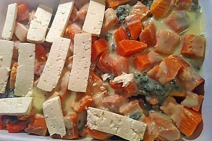 Spinat - Kartoffel - Lachs - Auflauf 25