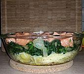 Spinat - Kartoffel - Lachs - Auflauf