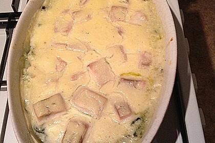Spinat - Kartoffel - Lachs - Auflauf 15