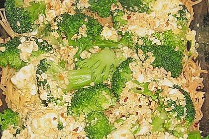 Kartoffel - Brokkoli - Auflauf mit Macadamiakruste 1