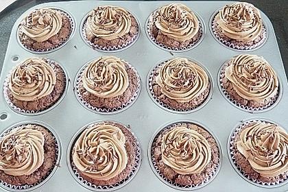 Nutella Cupcakes 30