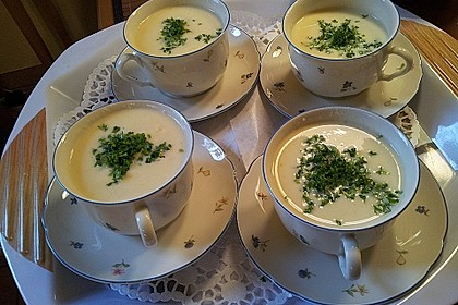 Spargelcremesuppe 0