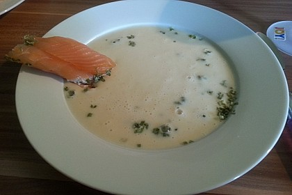 Spargelcremesuppe 10