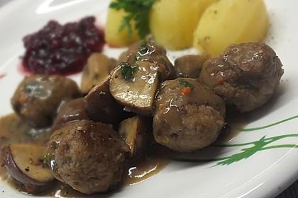Schwedische Fleischklößchen