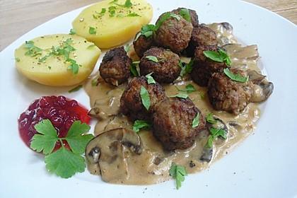 Schwedische Fleischklößchen 2