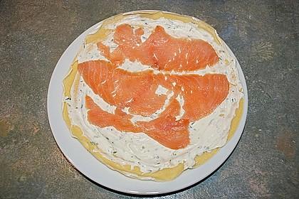 Pfannkuchen - Lachs - Rolle 2