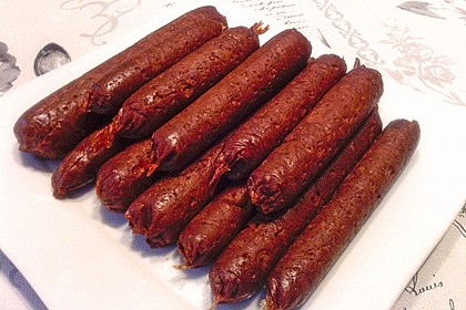 Seitan - Wurst, vegane Bratwurst 2
