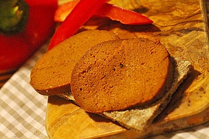 Seitan - Wurst, vegane Bratwurst 4