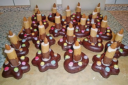 Lebkuchen - Kerze 7