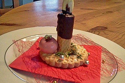 Lebkuchen - Kerze 16