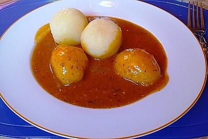 Kloß mit Soß' vegetarisch 7