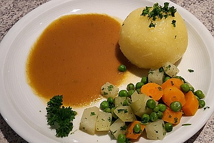Kloß mit Soß' vegetarisch 8