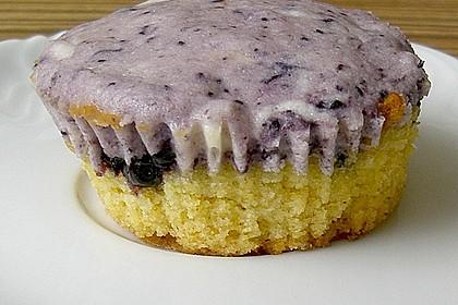 Muffins mit Heidelbeeren und Quark 11