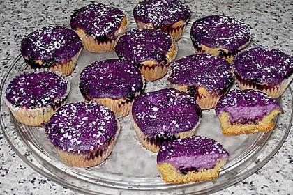Muffins mit Heidelbeeren und Quark 9