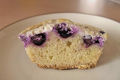 Muffins mit Heidelbeeren und Quark 15