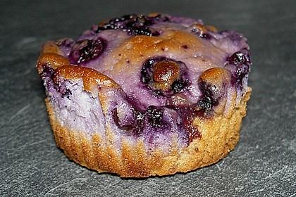Muffins mit Heidelbeeren und Quark 18
