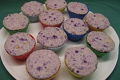 Muffins mit Heidelbeeren und Quark 10