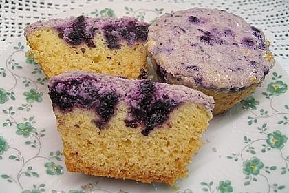 Muffins mit Heidelbeeren und Quark 4