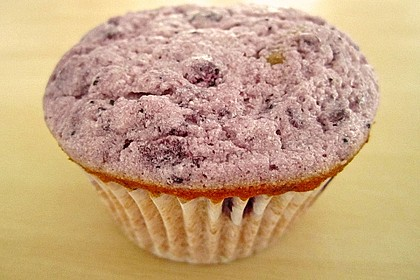 Muffins mit Heidelbeeren und Quark 8