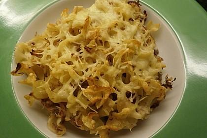 Sauerkraut - Gratin mit Bandnudeln 6