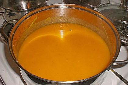 Süßkartoffel - Karotten - Suppe 13