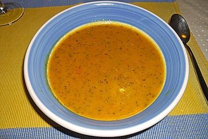 Süßkartoffel - Karotten - Suppe 14