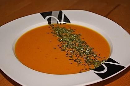 Süßkartoffel - Karotten - Suppe