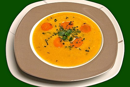 Süßkartoffel - Karotten - Suppe 1