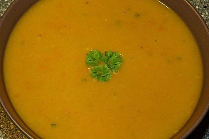 Süßkartoffel - Karotten - Suppe 5