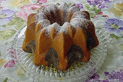 Orangen - Mohn - Marmorkuchen 10