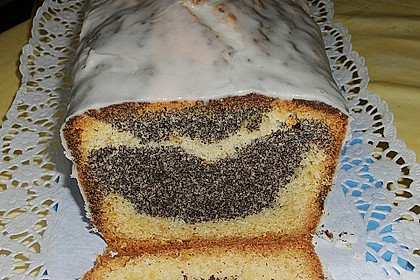 Orangen - Mohn - Marmorkuchen 1