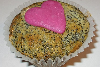 Mohn - Marzipan - Muffins 2