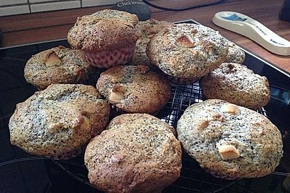 Mohn - Marzipan - Muffins 5