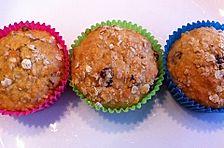 Oatmeal Banana Raisin - Muffins
