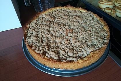 Veganer Apfelkuchen  mit Zimtstreuseln 30