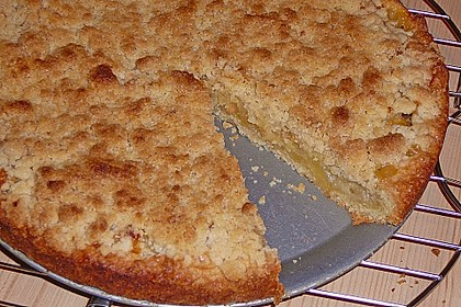 Veganer Apfelkuchen  mit Zimtstreuseln 17