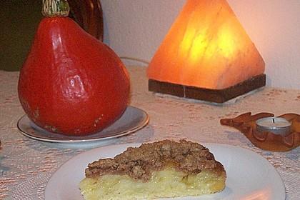 Veganer Apfelkuchen  mit Zimtstreuseln 15