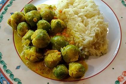 Rosenkohl-Linsen-Curry 1