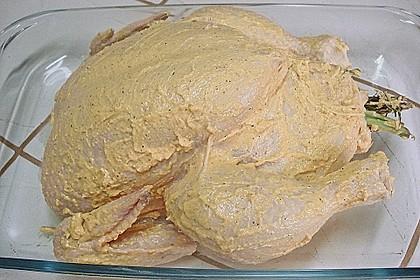 Gegrilltes Hühnchen mit Kräutern 17