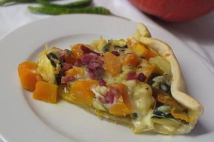 Kürbis-Raclettekuchen 1