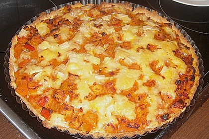 Kürbis - Raclettekuchen 5