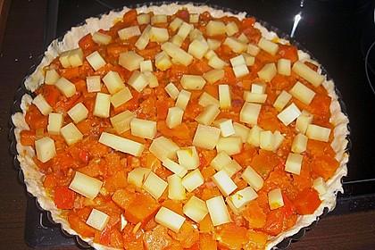 Kürbis - Raclettekuchen 9